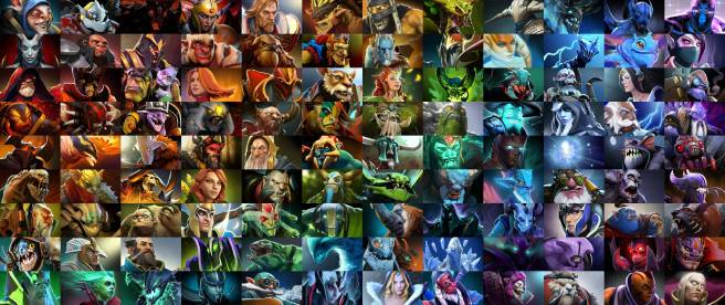 I won't have as many Heroes as Dota 2, but I want them to feel just as unique
