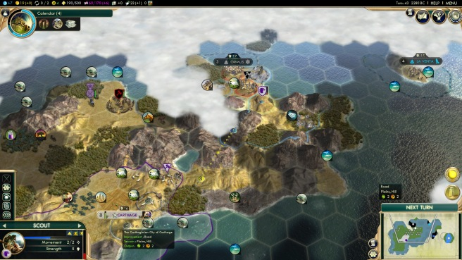 Movement in Civilization V