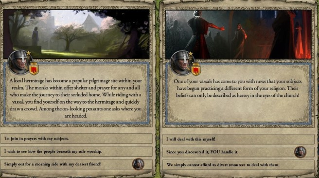 Events in Crusader Kings II